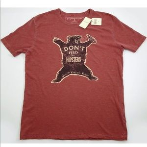 Lucky Brand t-shirt NWT size L